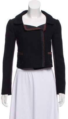 Miu Miu Cropped Wool Jacket