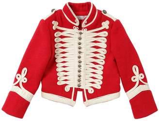 Stella McCartney Cloth Wool Military Jacket