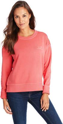 Vineyard Vines Long-Sleeve Garment Dyed Vintage Whale Crewneck Sweatshirt