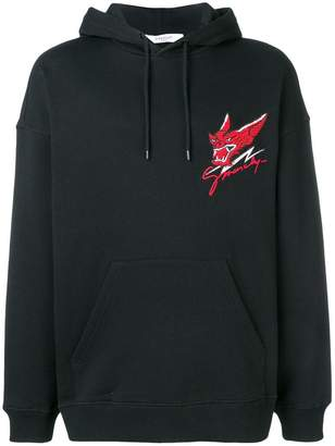 Givenchy Monsters embroidered hoodie