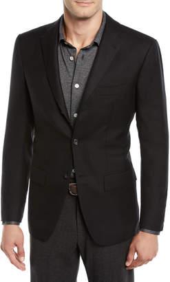 Kiton Men's Cashmere Three-Button Jacket