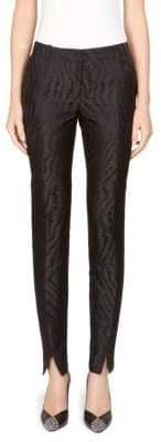 Givenchy Tiger Jacquard Skinny Pants