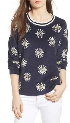 Splendid x Margherita Fiore Daisy Sweatshirt