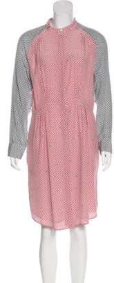 Boy By Band Of Outsiders Silk Printed Dress