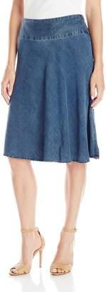 Nic+Zoe NIC & ZOE Women's Denim Summer Fling Flirt Skirt