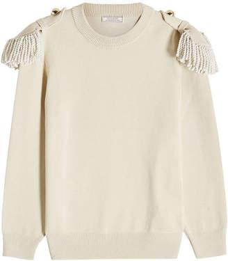 Nina Ricci Wool-Cotton Pullover