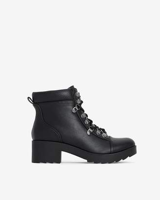 Express Lace-Up Hiker Lug Boots