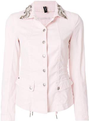 Marc Cain embellished collar jacket
