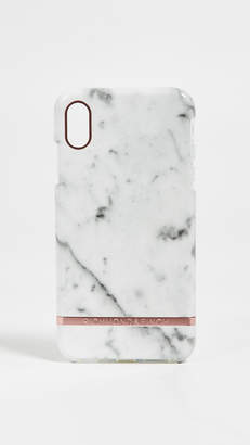 Richmond & Finch White Marble iPhone XS Max Case