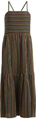 Ace&Jig Striped cotton maxi dress