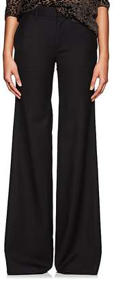 Nili Lotan Women's Irene Virgin Wool Twill Flared Pants