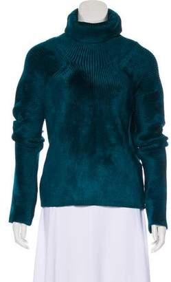 Haider Ackermann Turtleneck Rib Knit Sweater