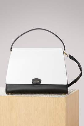 Lanvin Trapà ̈ze bicolore shoulder bag