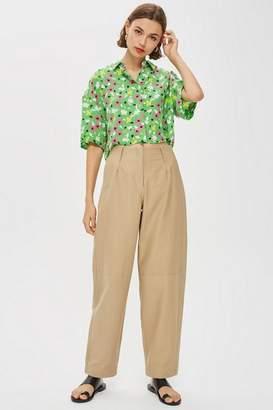 Topshop Womens **Delmonte Peg Trousers By Boutique
