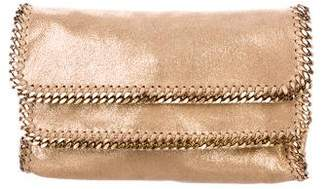 Stella McCartney Shaggy Deer Falabella Foldover Clutch w/ Tags