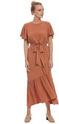 Rachel Pally Crepe Rayon Rey Dress - Terra Cotta
