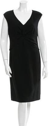 Tory Burch Wool Sleeveless Dress