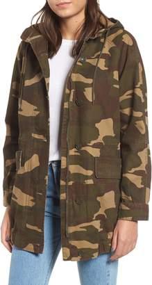 Levi's Longline Camo Coat