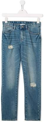 Stella McCartney TEEN distressed jeans