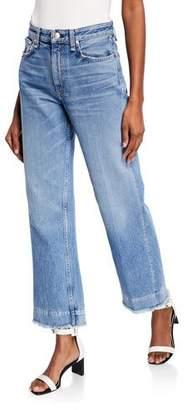 Rag & Bone Ruth Super High-Rise Straight Cropped Jeans