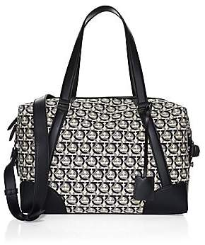 e5d407d4b719 Salvatore Ferragamo Men s Gancini Jacquard Canvas Travel Bag
