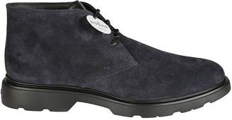 Hogan Ankle High Derby Shoes