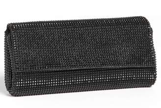 Whiting & Davis 'Pyramid' Mesh Clutch