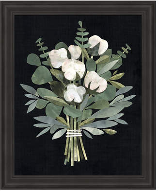 Cut Paper Bouquet I by Victoria Borges Framed Art