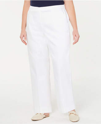 75fb8737f57 Alfred Dunner Turtle Cove Plus Size Pull-On Pants