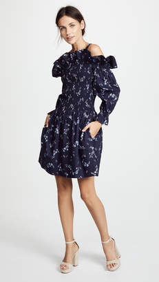 Rebecca Taylor Off Shoulder Francine Dress
