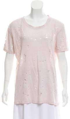 IRO Distressed Lightweight T-Shirt