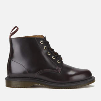 Dr. Martens Women's Emmeline Arcadia Leather 5-Eye Boots