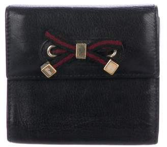 Gucci Compact Bow Wallet