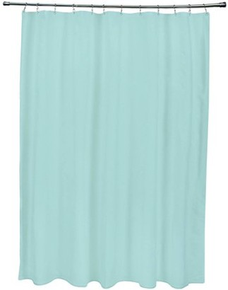 """E By Design Simply Daisy 71"""" x 74"""" Solid Print Shower Curtain"""