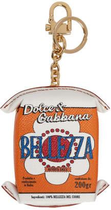 Dolce & Gabbana Multicolor Bellezza Can Keychain