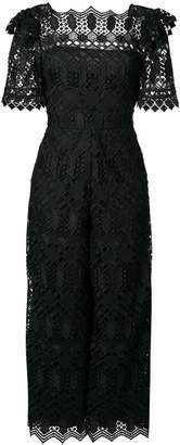 Temperley London Amelia lace jumpsuit
