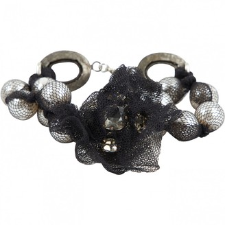 Lanvin Black Pearls Bracelets