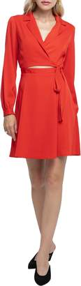 ASTR the Label Cutout Wrap Dress