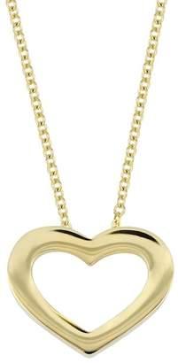 Bony Levy 14K Yellow Gold Open Heart Pendant Necklace