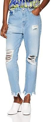 Jijil Women's's Jpe18Pj021 Straight Jeans