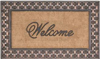 Bacova Guild Koko Framed Basketweave Coir Doormat