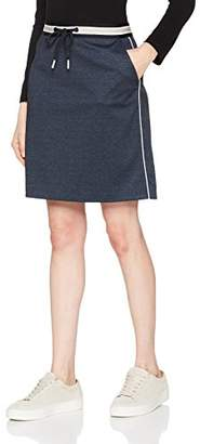 Comma Women's 81.802.78.7653 Skirt, Multicolour Dobby 59K2