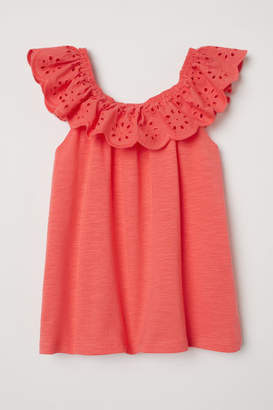 H&M Bohemian-style Blouse - Orange