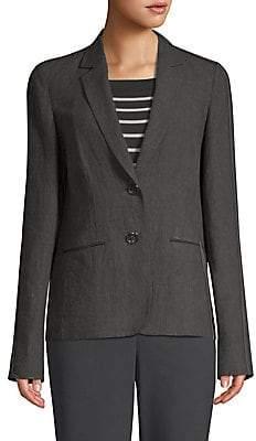 Lafayette 148 New York Women's Vangie Linen Blazer