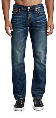True Religion MENS SUPER T RICKY STRAIGHT JEAN W/ FLAP