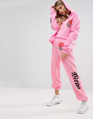 Wildfox Couture Mega Chic Rose Jogger