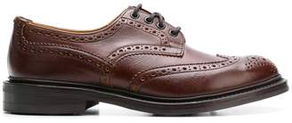 Tricker's Trickers punch-hole derby shoes