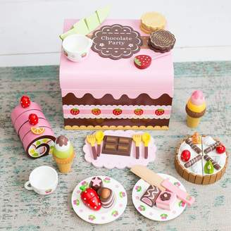 Harmony at Home Children's Eco Boutique Children's Personalised Wooden Chocolate Play Box