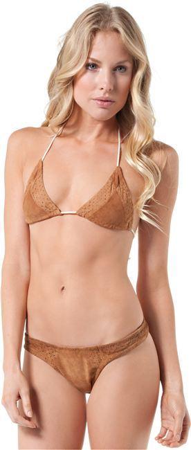 Tigerlily Suede Bikini