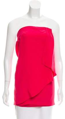 Twelfth Street By Cynthia Vincent Strapless Cutout Top